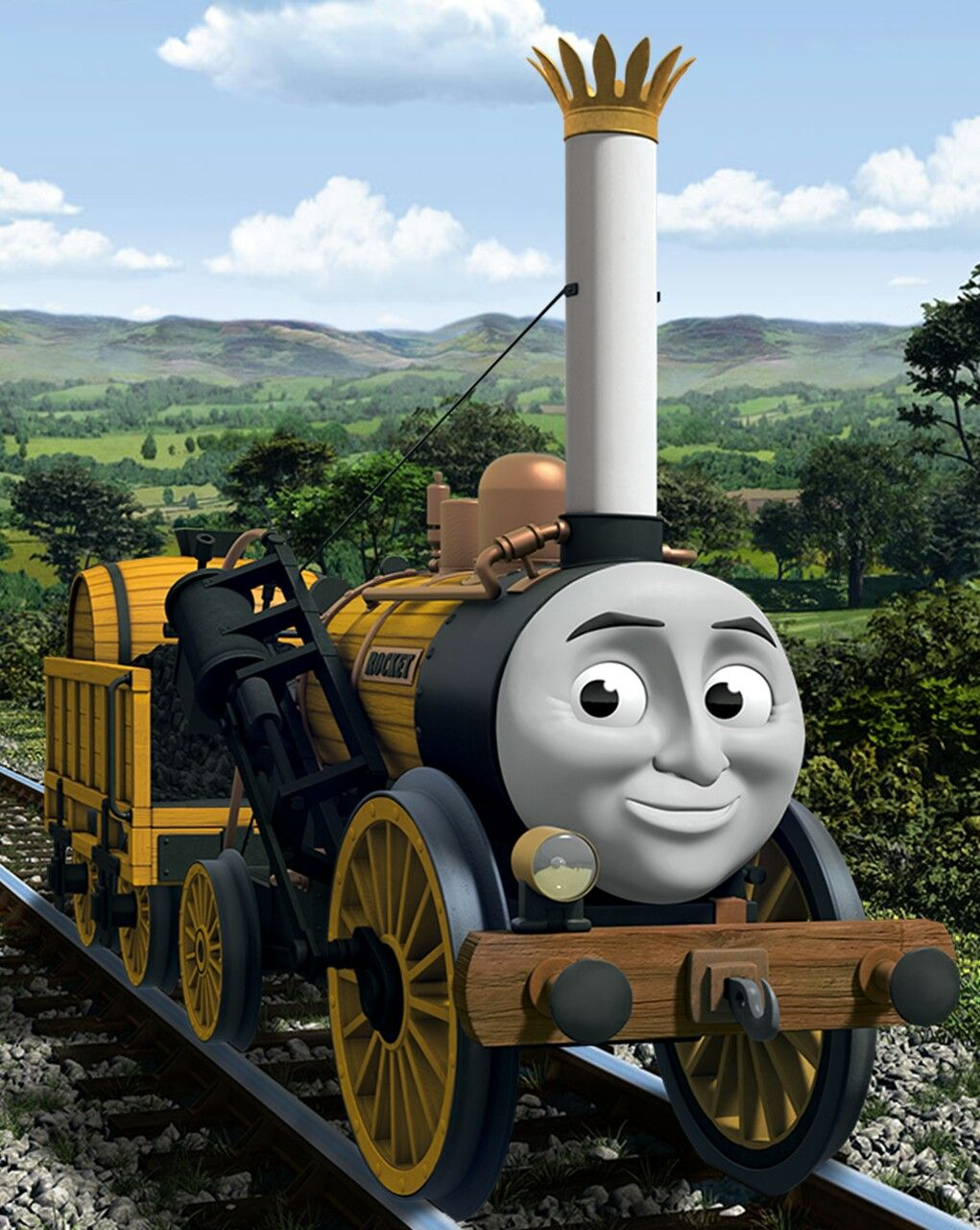 Thomas the tank engine wallpaper border - Stephen Is One Of The Oldest Engines On Sodor