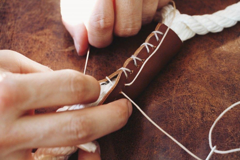 Made: DIY Rope Dog Leash / Wildlandia -   21 diy dog leash ideas