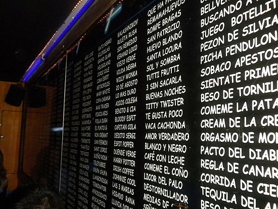 Shot List At Espit Chupitos  Barcelona Spain The Best