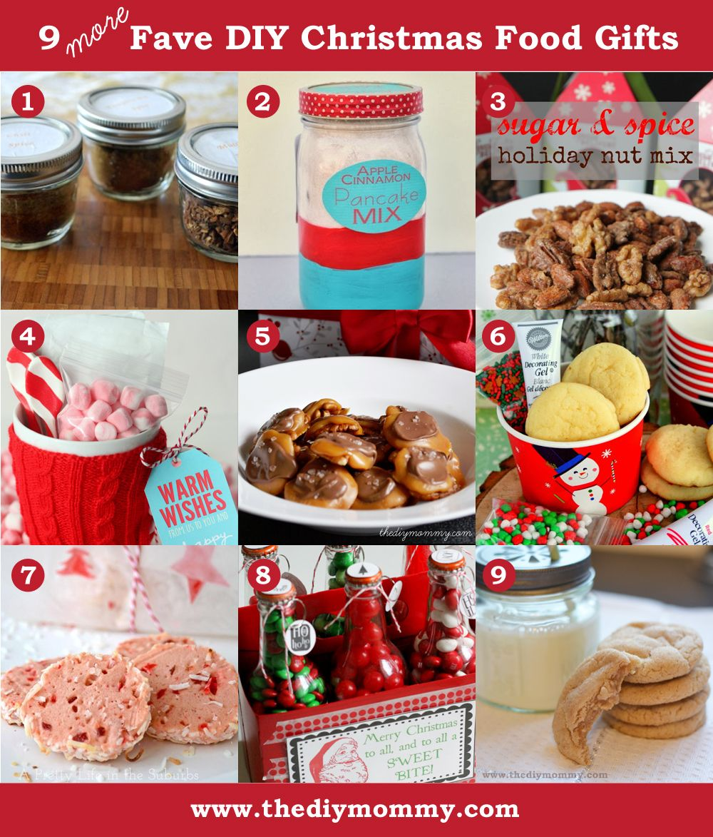 A Handmade Christmas: More DIY Food Gifts | Baskets: how to\'s, gift ...