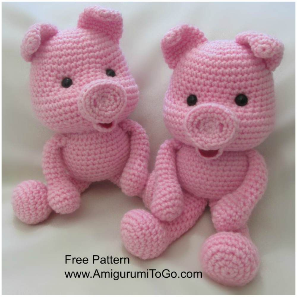 Sweet piggies crochet toys free pattern toys amigurumi this crochet pig pattern is just one of many great ideas you will find in our post we have loads of free patterns and even a video tutorial for you bankloansurffo Image collections