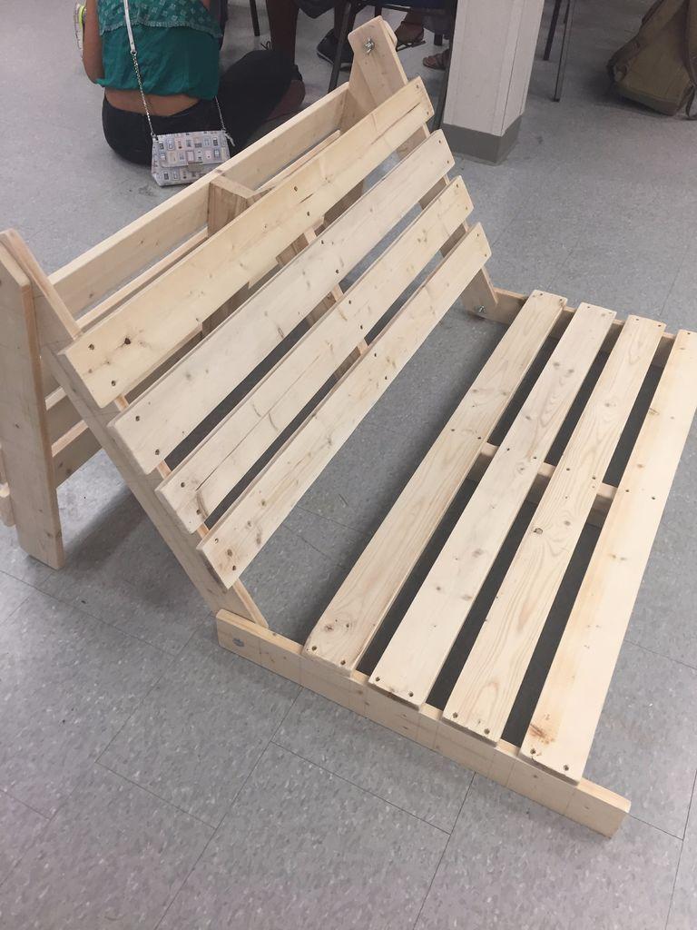 Simple Tri Fold Futon Frame