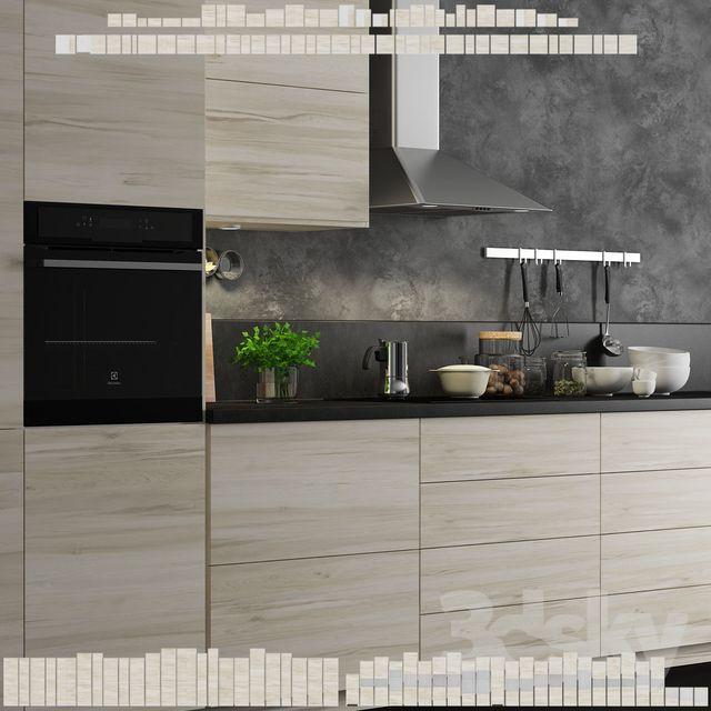 Kitchen Ikea Method Askersund Interior In 2019 Kitchen Ikea Kitchen Cabinets Ikea Kitchen