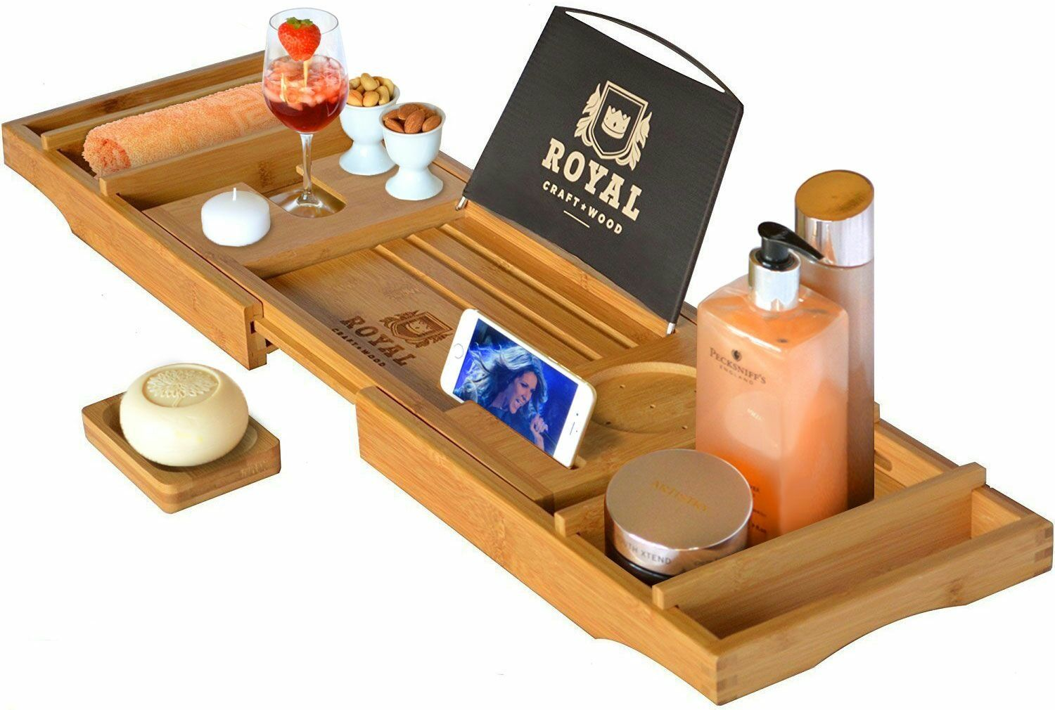 Valentine S Day Gifts For Book Lovers Bathtub Caddy Wood