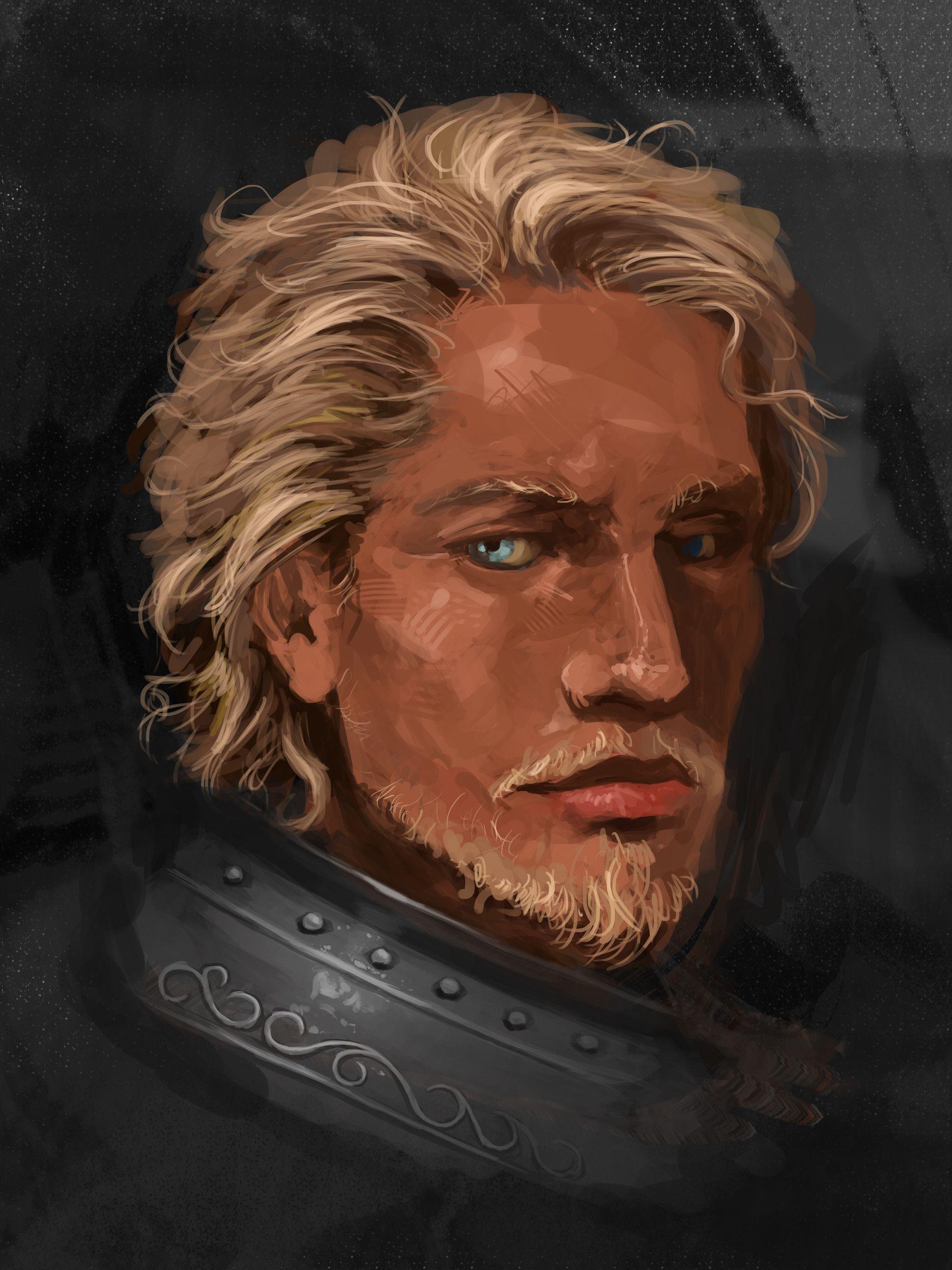 artstation - blonde knight simeon