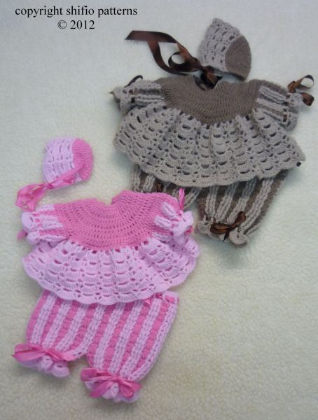 Baby Crochet Pattern Angel top, Shorts, Hat Crochet Pattern DIGITAL ...