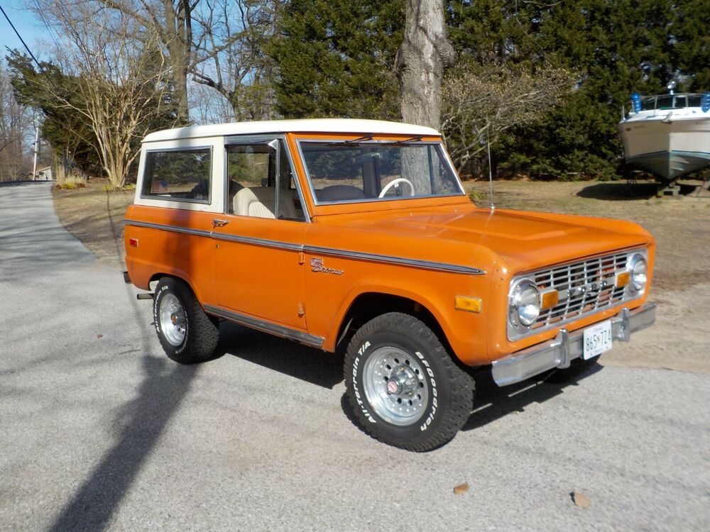 1974 Ford Bronco sport eBay Motors, Cars & Trucks, Ford