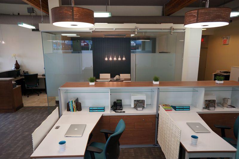 Modern, Open Office Design By Hatch Interior Design, Kelowna, BC. Global  Floorplay