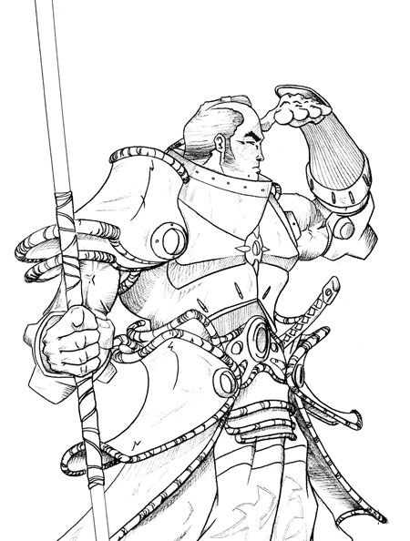 Samurai Coloring Pages