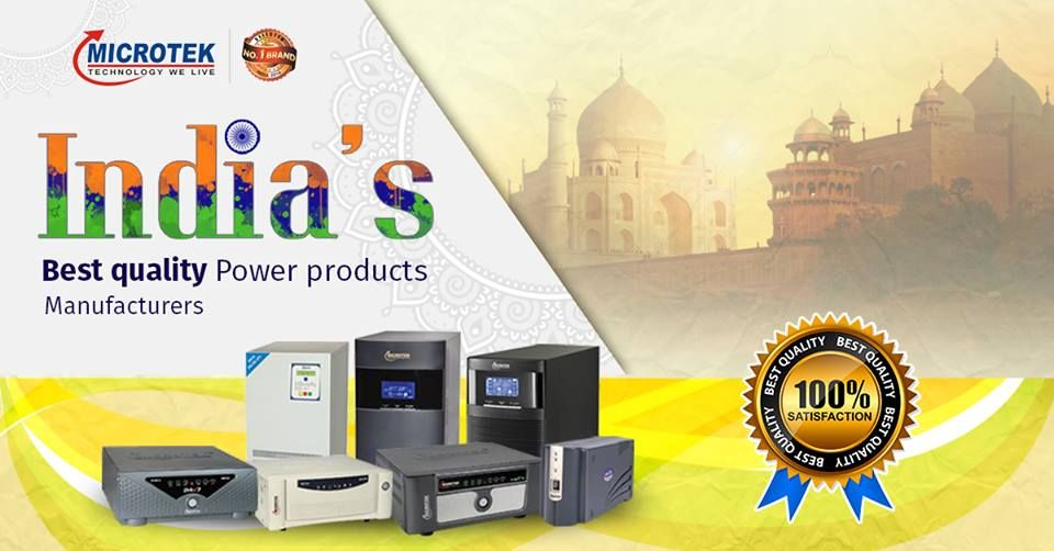 Microtek Inverter Ups India S Best Quality Power Products Manufacturer Ups India Manufacturing