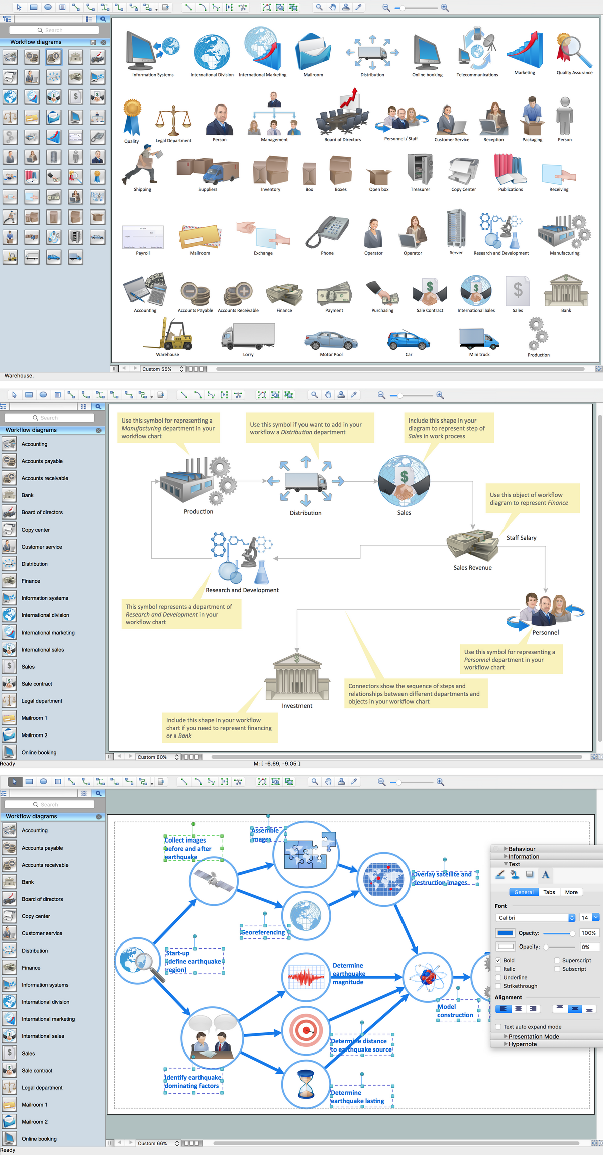 Workflow Diagram Software Mac Features to Draw Diagrams Faster