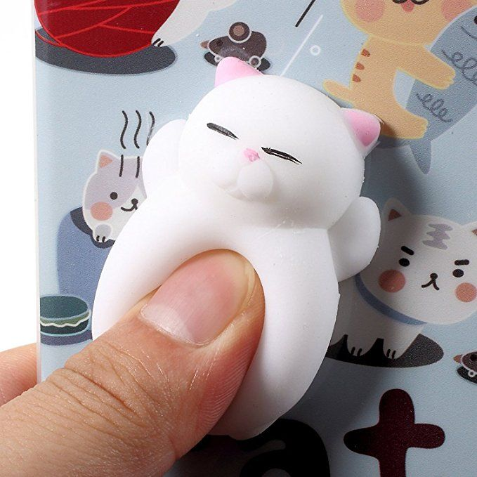 how to make a cat squishy with silicone