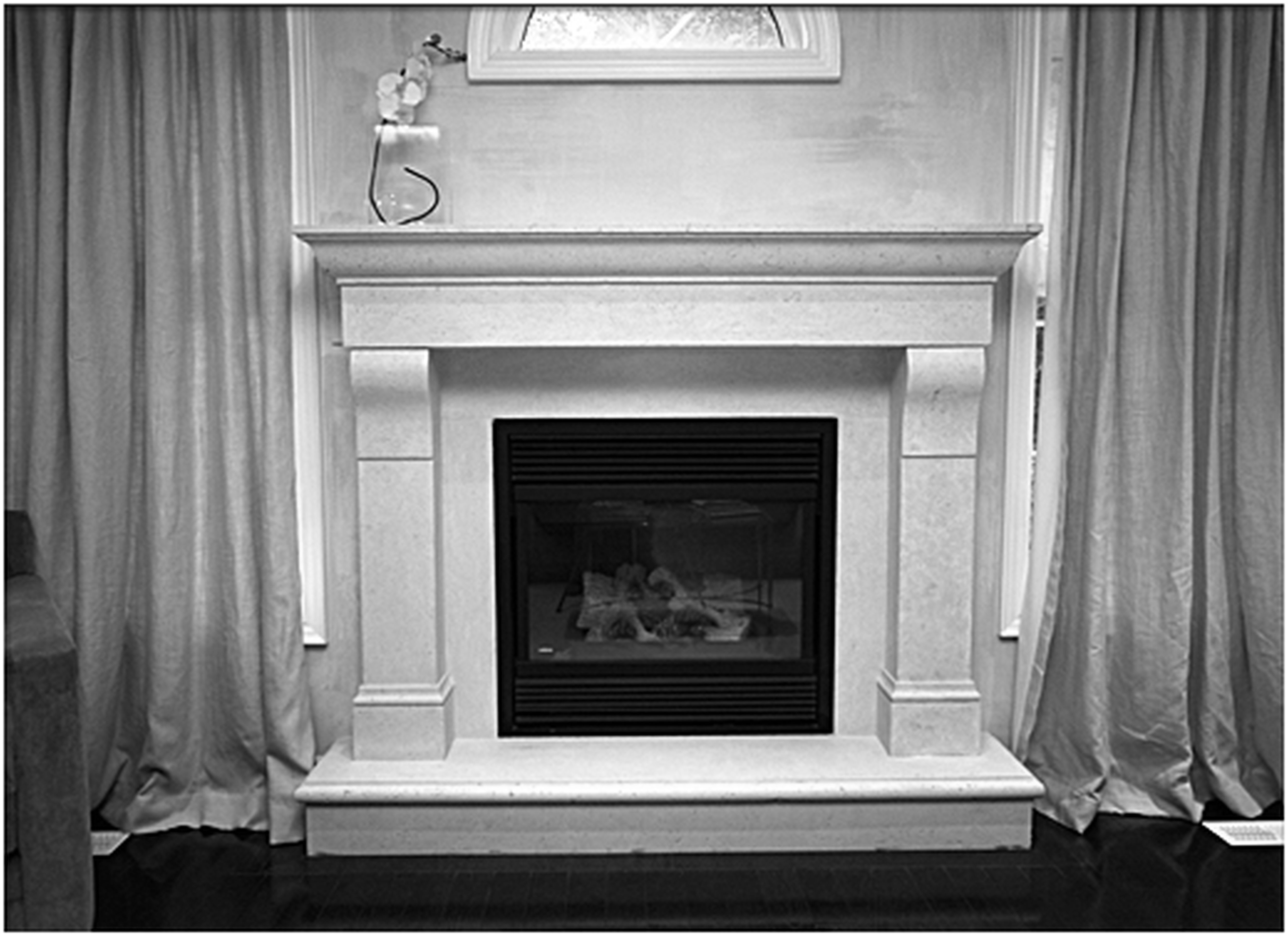 Fireplace Design Ideas With Tile corner two sided fireplace mantels corner fireplaces big tiles design ideas lynns ideas pinterest corner fireplaces tile design and two sided Granite Fireplace Surround Pictures Fireplace Pinterest Granite Fireplace Surrounds And Dark Granite