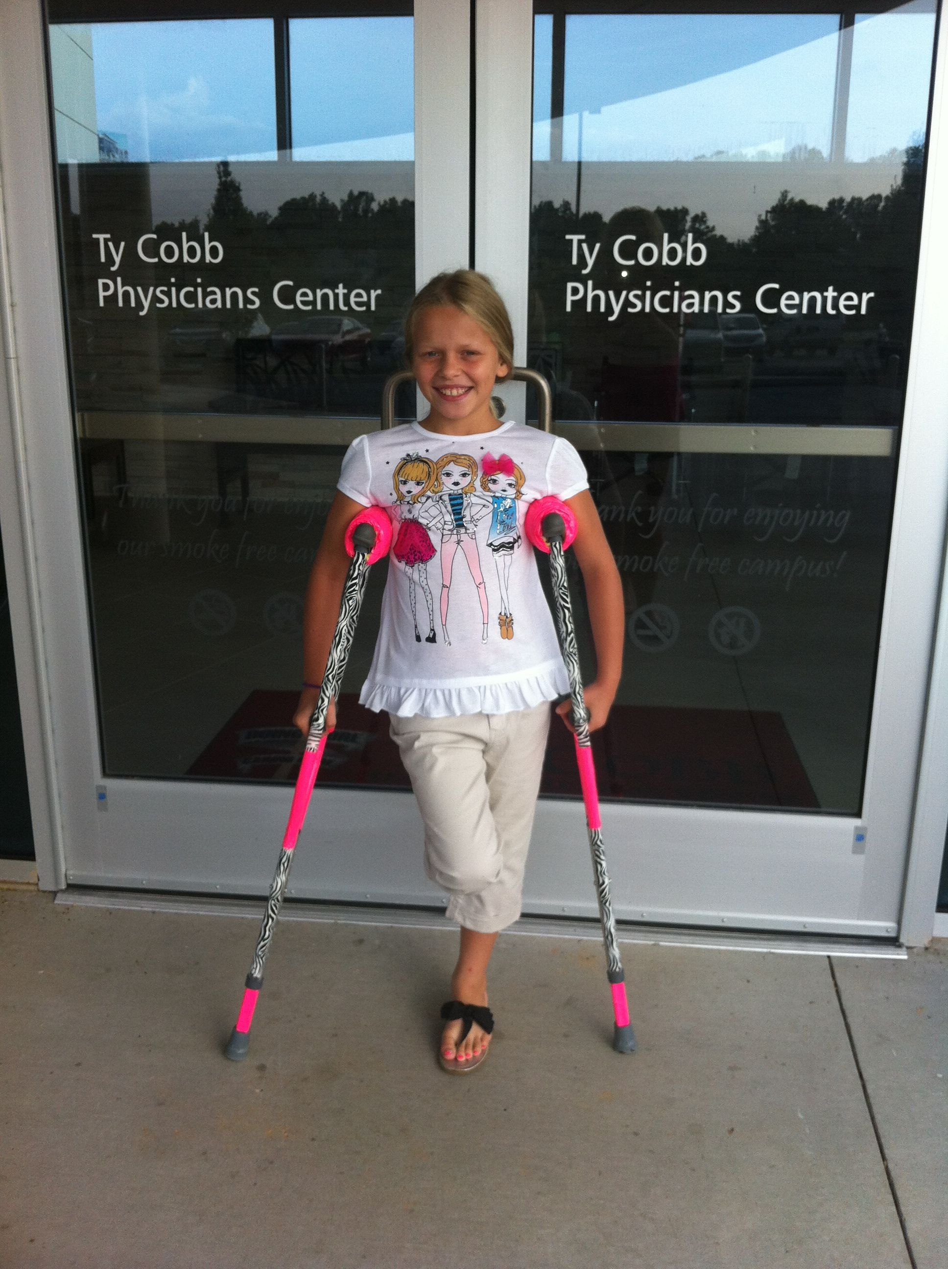 the magic of duct tape cute crutches all about jordyn