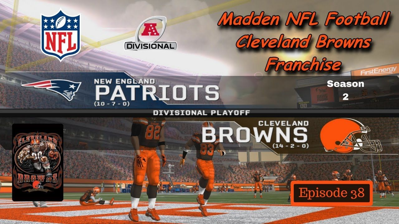Browns vs Patriots (S2/Div Playoff) - Madden 08 Modded - Cleveland ...