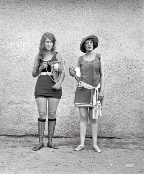 Washington Tidal Basin Beauty Contest, 1922.