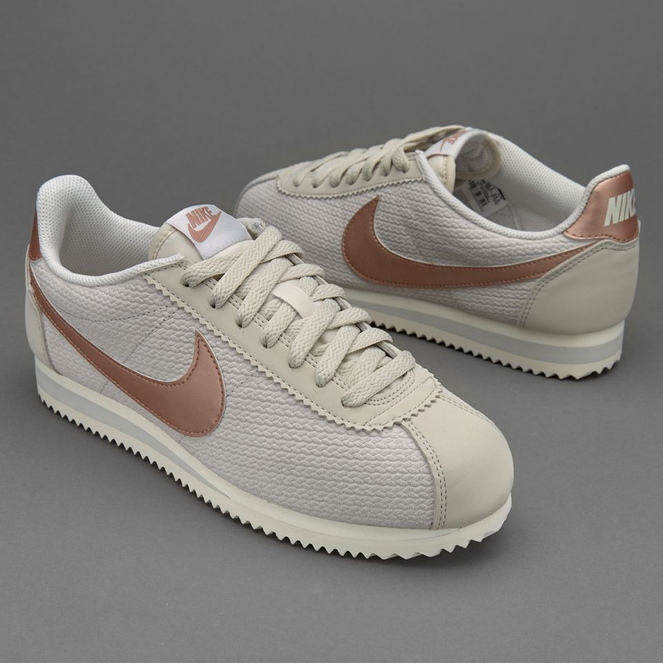great fit new products top design Nike Sportswear Womens Classic Cortez Leather Lux - Light ...