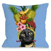 Found it at AllModern - Pets Rock Fruit Pillow