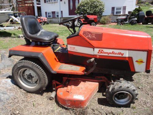 Tractor · Simplicity Garden Tractor