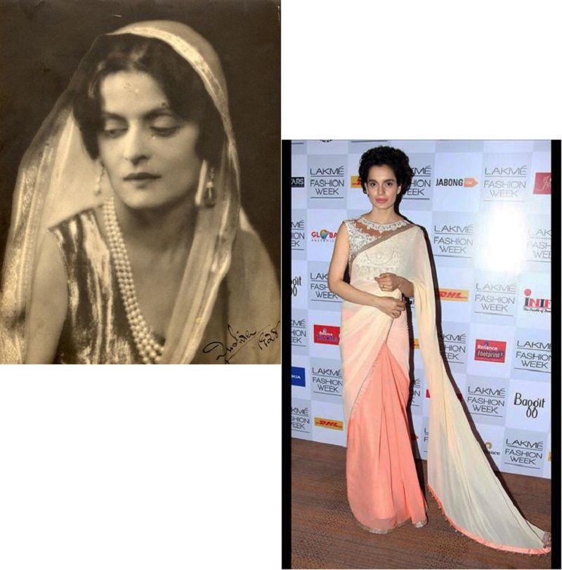 Historical Figures Who Inspired Indian Fashion Indian Fashion Fashion Historical Fashion