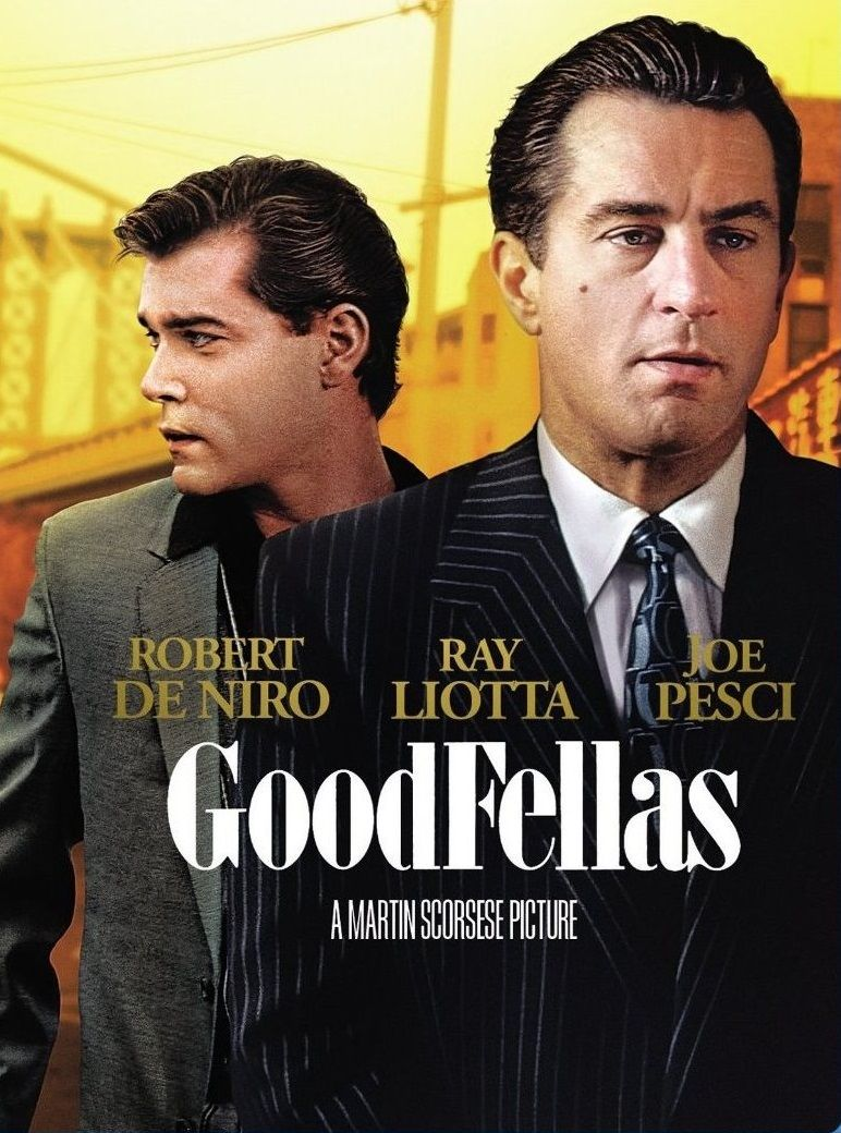 Goodfellas - Blu-ray cover art from the 25th anniversary ...