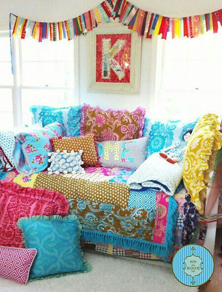 Wonderful Boho Love. Girls Bedroom.