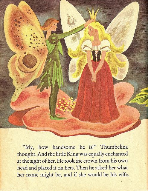 Thumbelina - King of the Flower Spirits in 2019 | Fairy ...