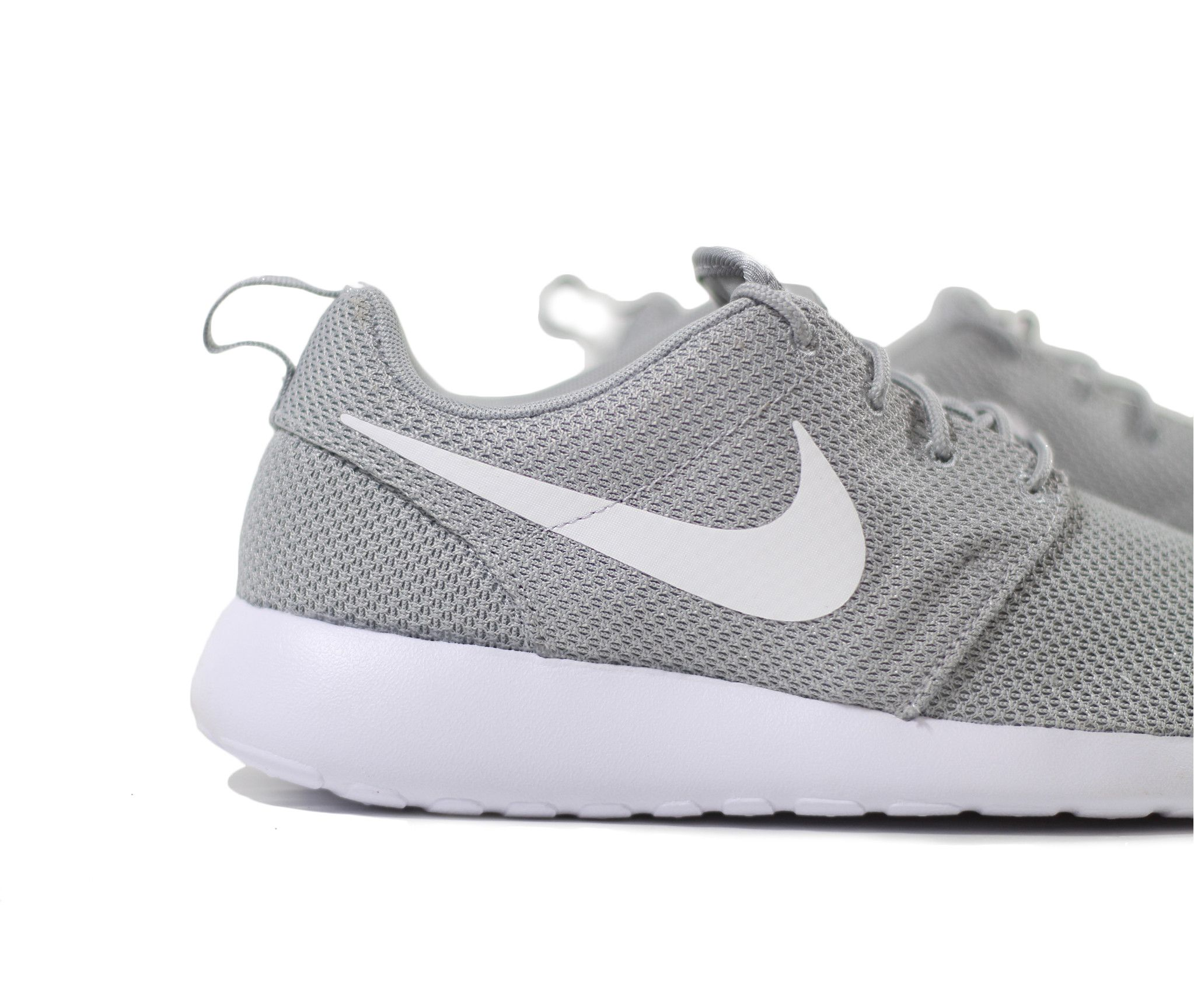 Womens Nike Roshe Run Shoes Gray/PinkShoes_a2619
