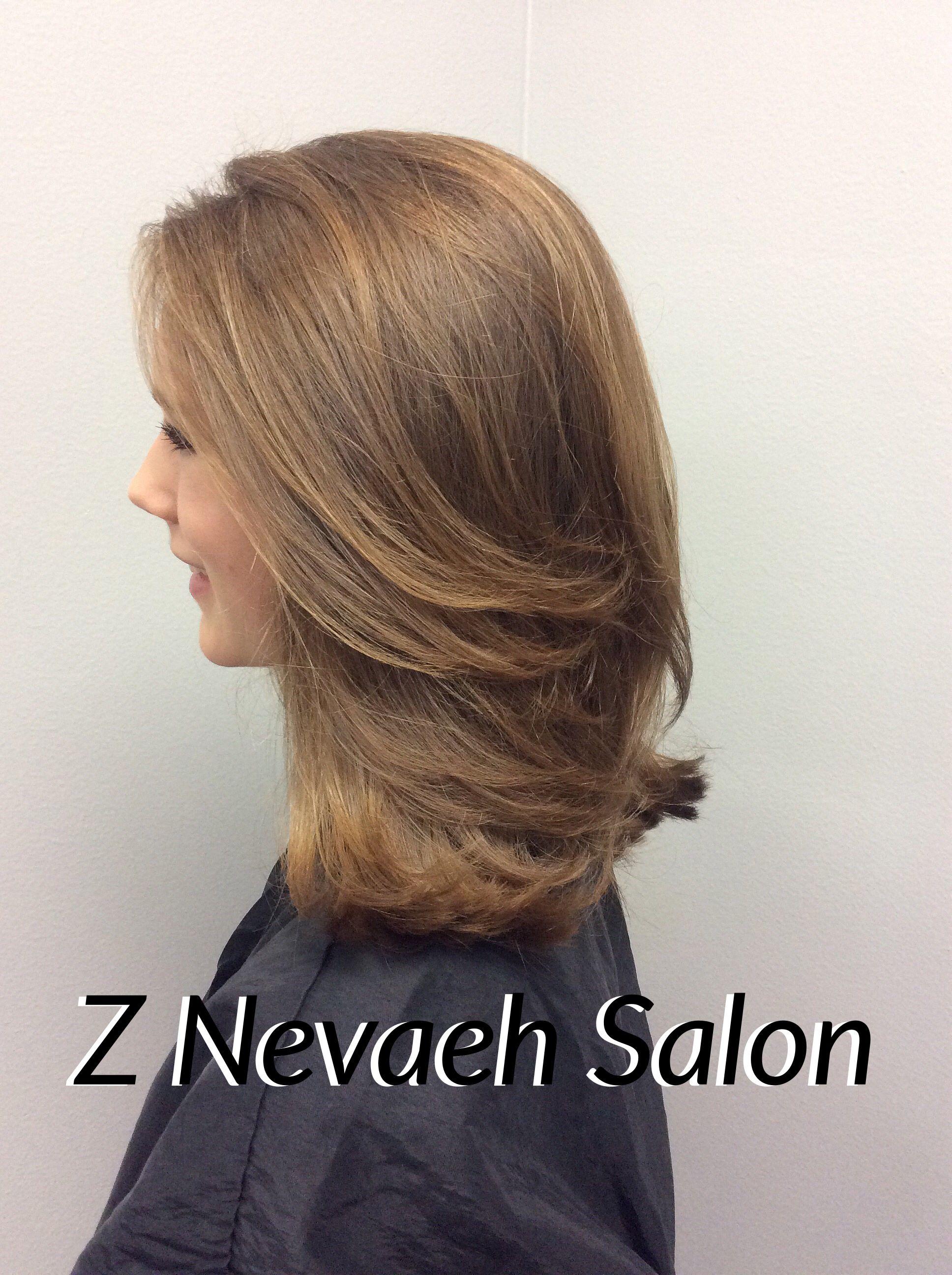 French Layered Haircut Znevaehsalon Salon Haircut Knoxvilletn