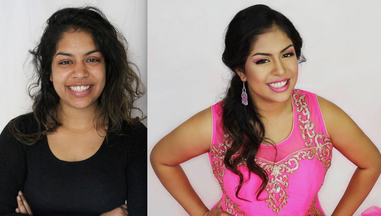 Asian makeup and hairstyle indian makeup and hair https