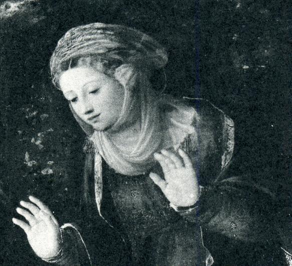 Alfonso II d'Este, Duke of Ferrara | Lucrezia Borgia as Saint Mary