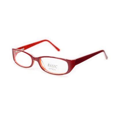 ffd9782a11599 Armação Oculos Grau Acetato Vermelha Detalhada Tv2 - R  54,00 no  MercadoLivre