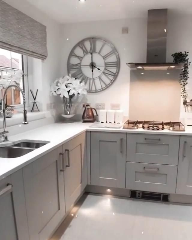 What a ✨GORGEOUS💞 KITCHEN!💗 What do you think??