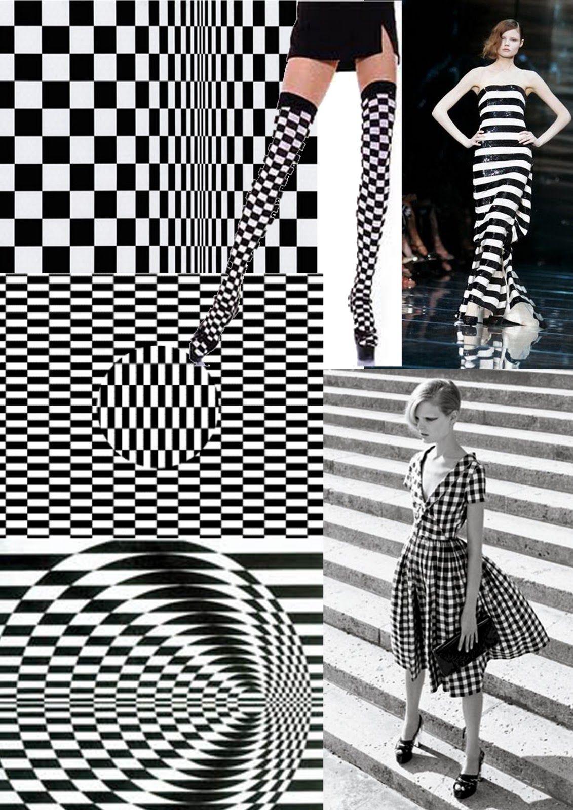 :::: ♡ ♤ ✿⊱╮☼ ☾ PINTEREST.COM christiancross ☀❤•♥•*[†]⁂ ⦿ ⥾ ⦿ ⁂ ::::bridget riley influence 60s fashion