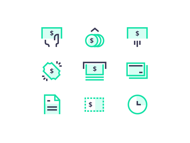 Finance Icons Finance Icons Icon Icon Design