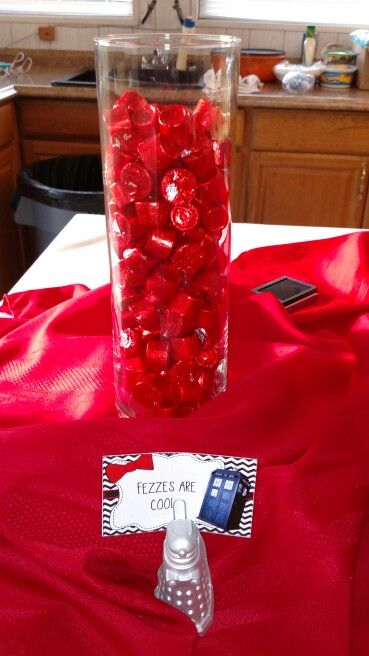 Red Rolos as Fez