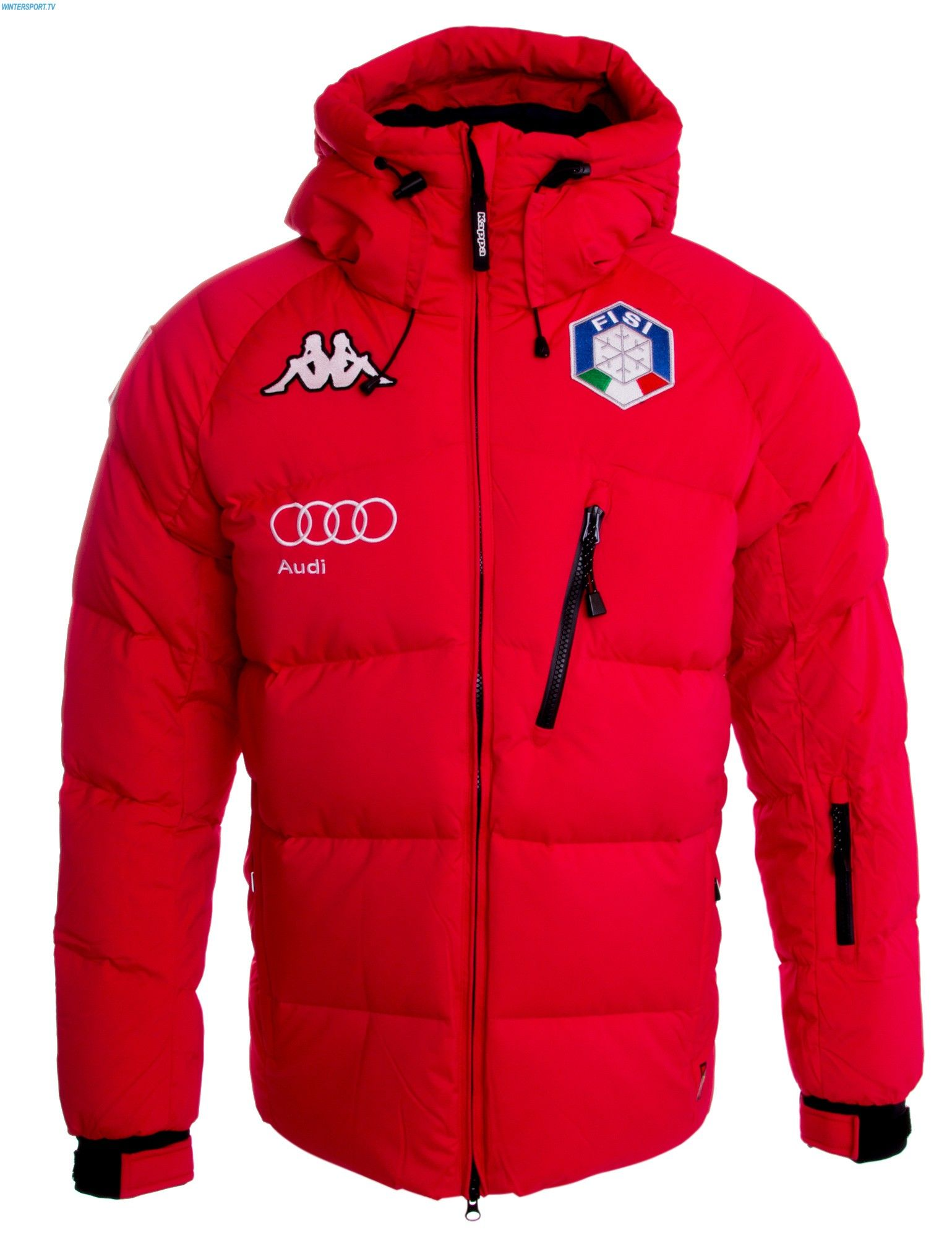 2a63fbd2 Kappa Men Italian Team FISI Down Jacket – Red | Clothes in 2019 | Снег