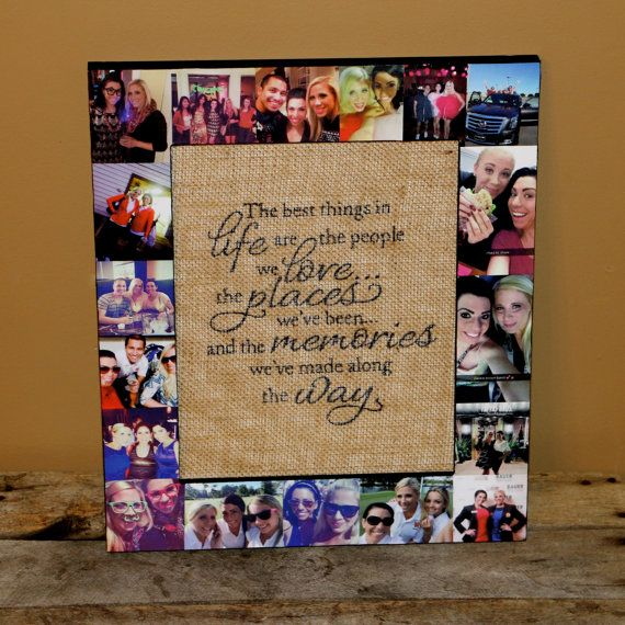 Personalized Husband Gift Sister Bridesmaid Picture Frame Custom ...