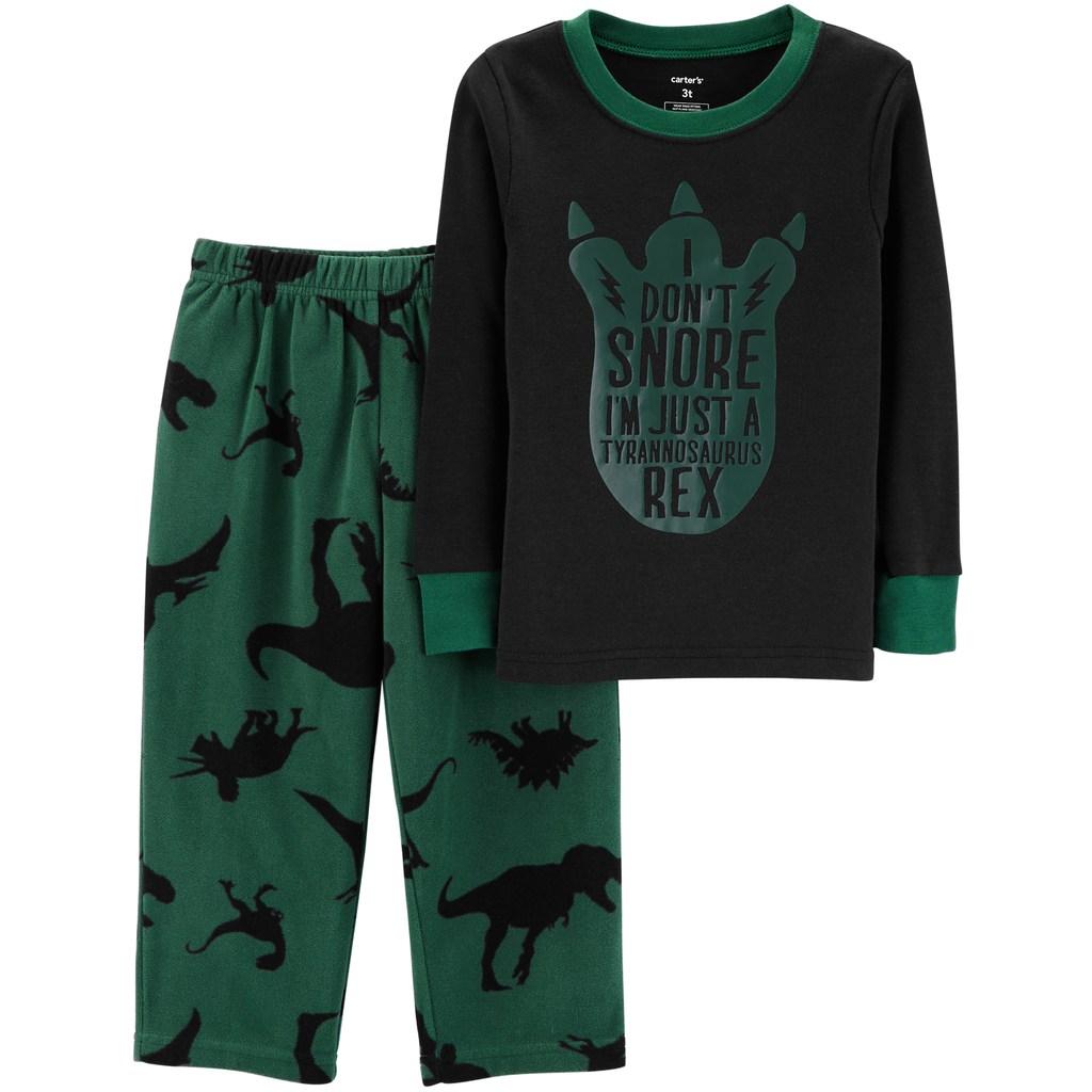 7d28843ea Carter's Toddler Boy Top & Fleece Bottoms Pajamas Set | Products ...