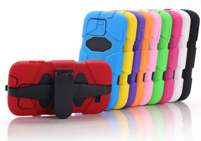 Duty Survivor Belt Clip Case Cover for iPhone 4 4S 5 S3 i9300 S4 i9500 N7100 Z10 #UnbrandedGeneric
