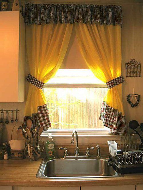 Как пошить шторы на кухню своими руками мастер класс