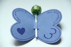 Schön Kindergeburtstag Einladung Schmetterling Basteln