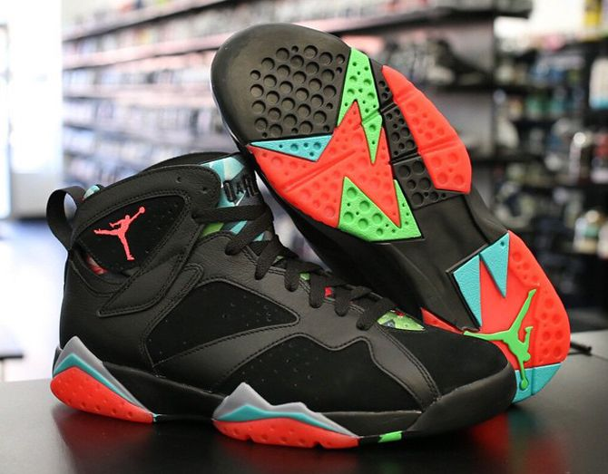 "7952e53cfcac56 Air Jordan 7 ""Marvin the Martian"" RUMORED to be releasing March 7th ..."
