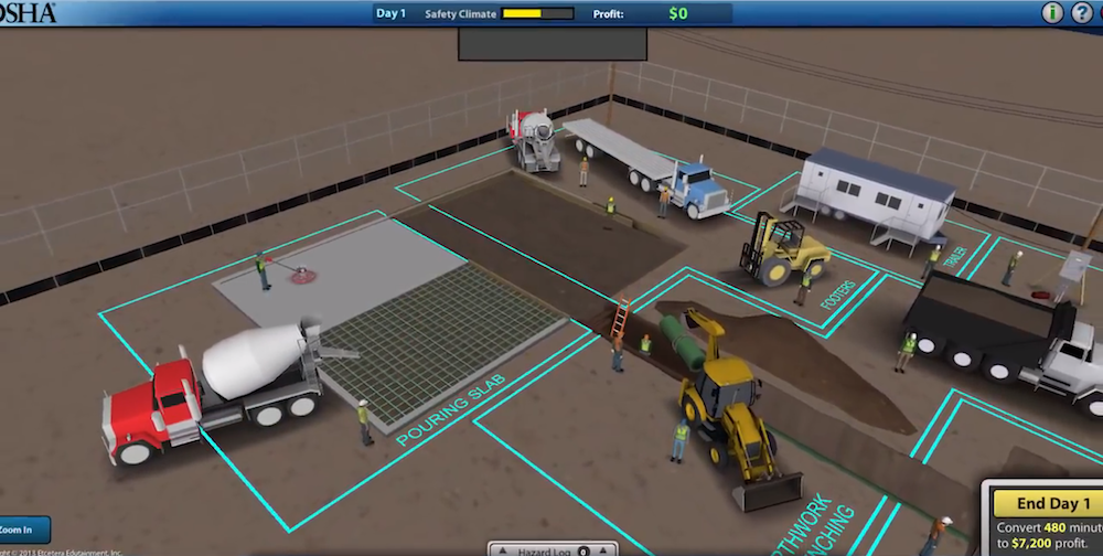 OSHA releases online video game that helps contractors and
