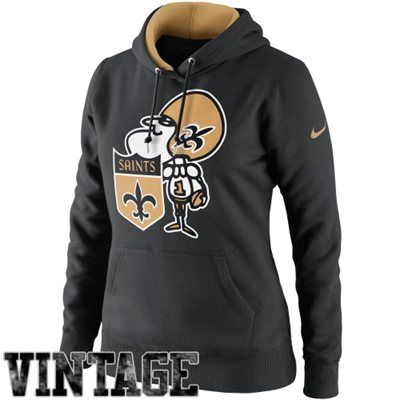 separation shoes f6c0b 3334a Nike New Orleans Saints Ladies Retro Tailgater Pullover ...
