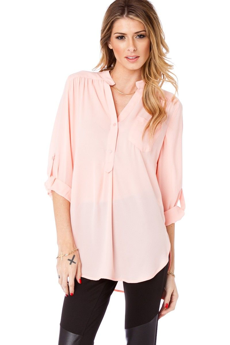 ShopSosie Style : Pure Colora Blouse in Bloom