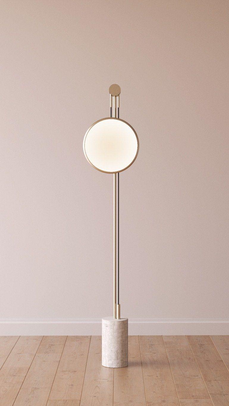 indirect lighting design. Indirect Light Metal Floor Lamp Soledad By Roche Bobois, Design Elsa Pochat, Elí Séval-Hernàandez. Lighting