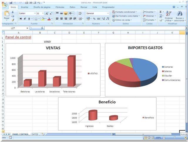 Practicas plantillas Excel listas para usar en Contabilidad y ...