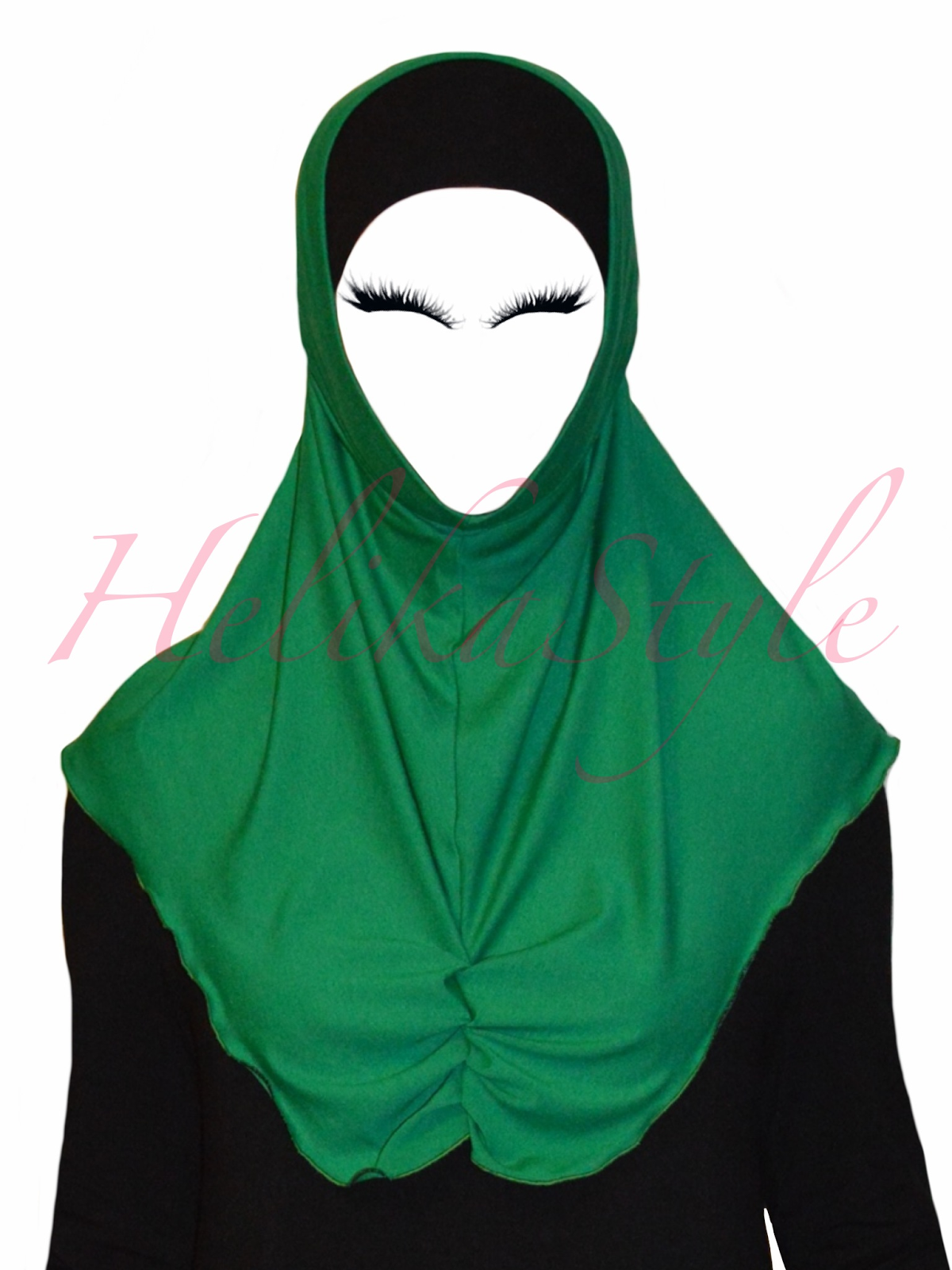 How to sew al-Amira hijab. Base pattern. Detailed instructions. :: Sewing classes and tutorials - HelikaStyle