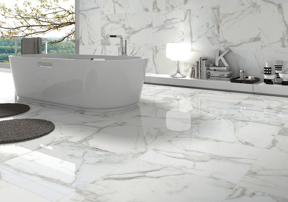 This Elegant Bathroom Features Tiles From Beaumont For More Stylish Ideas Check Out Http Www Au Roomideas Aspx Room